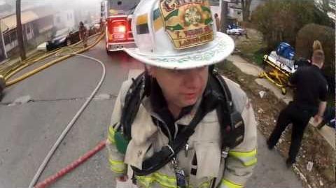 GoPro HD Fire Fighting- Rescue 19 Working Fire
