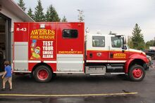 Unit 43 Aweres Rescue Truck