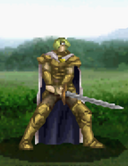 Narron battle (Gold Knight foot)