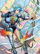 Eleonora illustration by cuboon for Fire Emblem Cipher Series 4