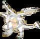 FE9 Nasir White Dragon (Transformed) Sprite