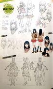 TMS (Cinematic) concept art of Tsubasa, 01