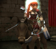 FE13 Bow Knight (Severa)