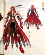 TMS Touma (Mirage Master) main concept artwork