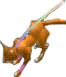 File:FE10 Lyre Cat (Transformed) Sprite.png