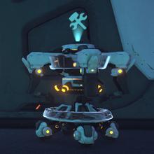 Battleframe Garage