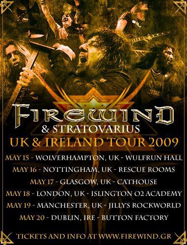 Uk Ir tour 2009