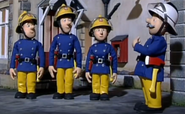 Fireman Sam and the crew in series 5