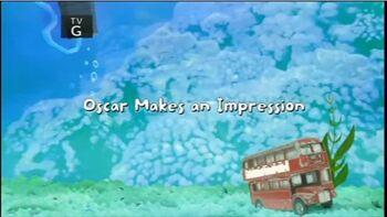 Oscar Makes an Impression title card
