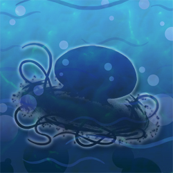 Andromeda-jelly hidden