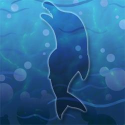 Pink-porpoise hidden