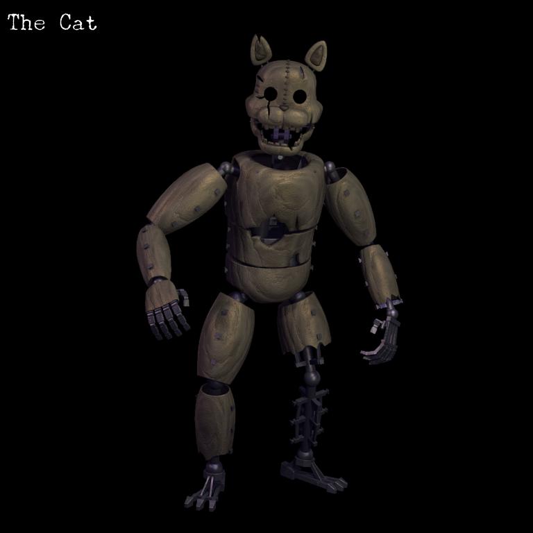 Кот fnaf
