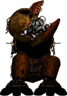 Withered x3 chica commission by fazboggle-d8ylnpn