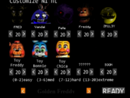 Five Nights at Fredbear's Remains Custom Night
