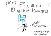 Childrens Drawing of Danny Phanto
