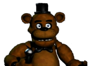 Freddy Fazbear RIP