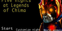 Five Nights at Legends of Chima