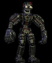 Nightmare endoskeleton
