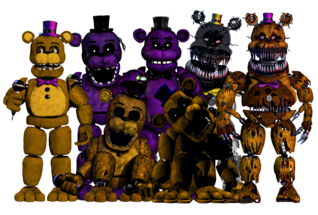 File:All golden freddys.png