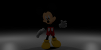 Adventure Photo-Negative Mickey