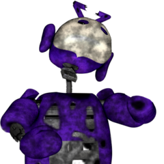 Better version of withered Tinky Winky V2, by Tuparman.