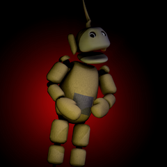 The thumbnail for the low poly FNaTL 2 Laa-Laa model download, on Critolious's DeviantArt.