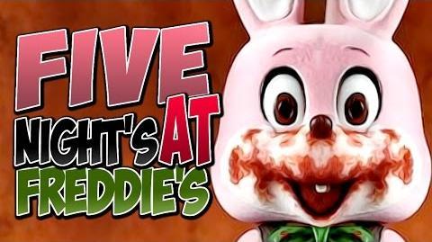 Five Nights At Freddys - SCARIEST GAME EVER!) (¤ &T!( Y()U)I=O?? (lol no) -