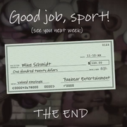 Mike Schmidt cheque