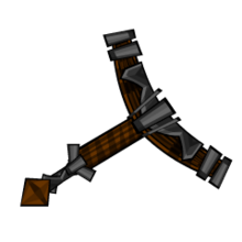 Iron Wood Sword Hilt
