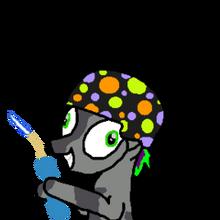 Napalm pony pet