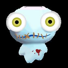 Zombie larvae pet