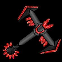 Iron Ruby Gemmed Hilt
