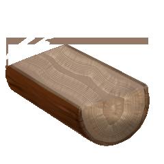 File:Raw white oak wood.png