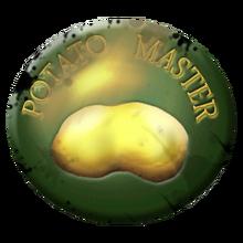 Potato badge