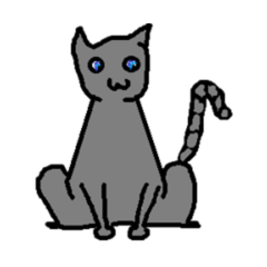 File:Pet gray cat.png