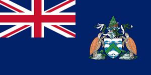 Ascension Island flag