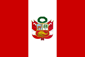 Flag of Peru (war)