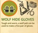 Wolf Hide Gloves