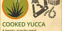 Cooked Yucca