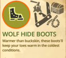 Wolf Hide Boots