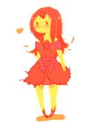 Flame princess by splicedlamia-d4pfww3