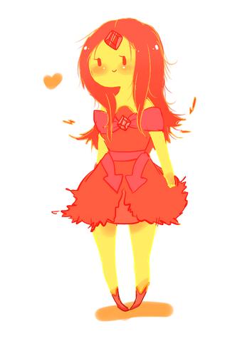 File:Flame princess by splicedlamia-d4pfww3.png