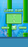 FlappyTurtle-GameOver