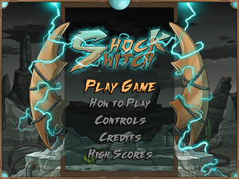 Shock Switch titlescreen