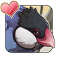 Perching Java Sparrow Icon