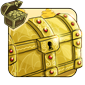 Gilded Decorative Chest
