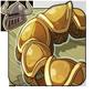 Burnished Gold Tail Cuffs