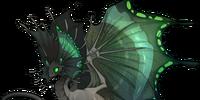 Skin: Royal Green Butterfly