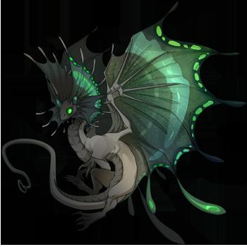 Royal Green Butterfly Skin