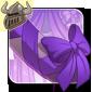 Pretty Purple Tail Bow